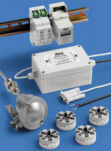 DIN rail mount temperature transmitter / thermocouple / current output -200 ... +1 200 °C | HD 778, HD 978 series Delta OHM
