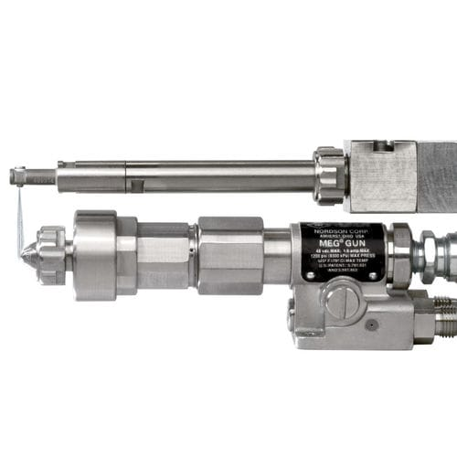 Automatic spray nozzle cleaning system CleanSpray® XT Nordson Industrial Coating Systems