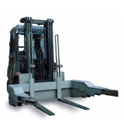 Container dumper / for forklift trucks Cascade