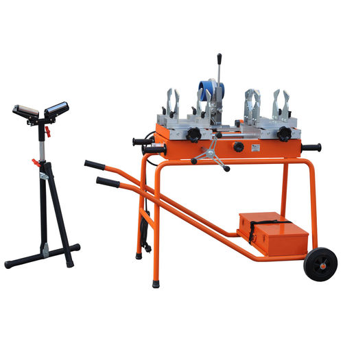 Butt welding machine / AC / manual / for pipes PRISMA 125 RITMO