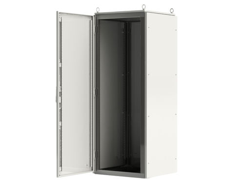 electric cabinet / on casters / metal / IP55