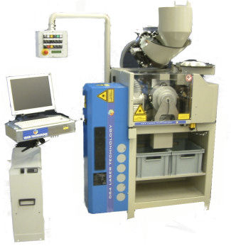 CO2 laser marking machine / for plastics / automatic QUADRA DS4 Laser Technology