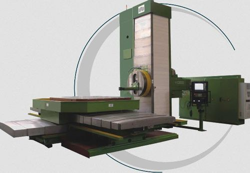 CNC boring mill / 4-axis / horizontal / with rotating table 3000 x 2500 x 1800 mm | BMT 130/150 CNC WMW Machinery