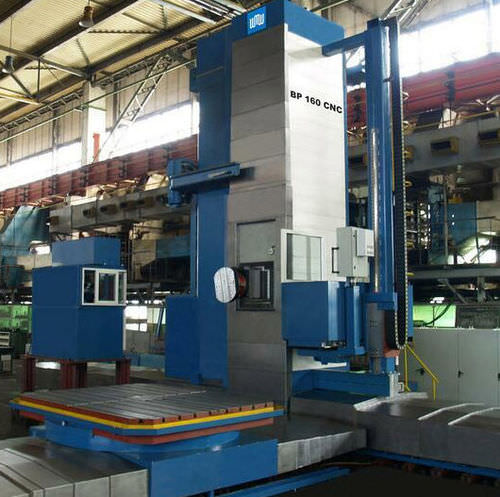 CNC boring mill / horizontal / 3-axis / column type 5000 x 3000 x 1000 mm | BP 160/180 CNC WMW Machinery