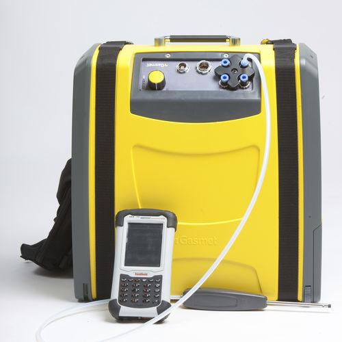 multigas analyzer / concentration / portable / continuous