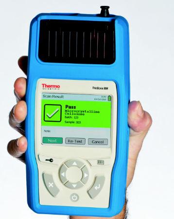 Iron analyzer / identification / elemental / portable - TruScan