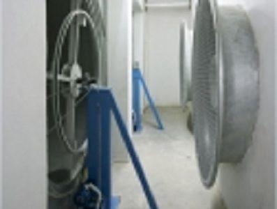 Industrial air conditioning unit Masonry  LUWA Air Engineering AG