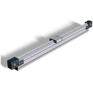 slide linear guide / steel / precision / square rail