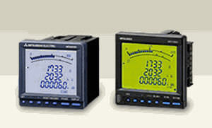 Panel-mount electric energy meter / with LCD display ME96SS series MITSUBISHI ELECTRIC AUTOMATION