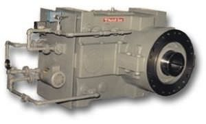 parallel-shaft gear reducer / vertical / for extruders