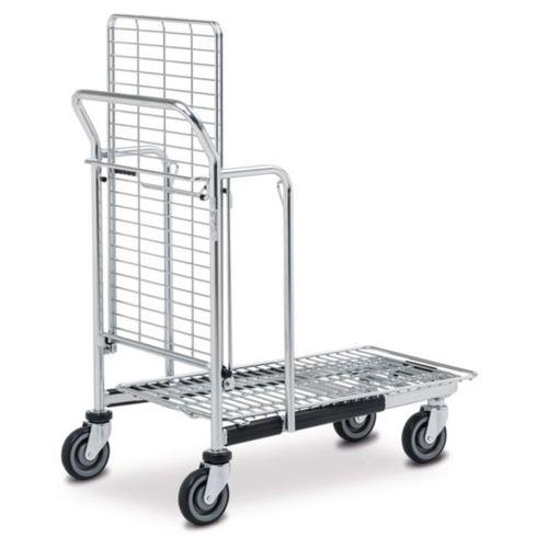 Transport cart / steel / shelf / wire mesh platform BITO-Lagertechnik Bittmann
