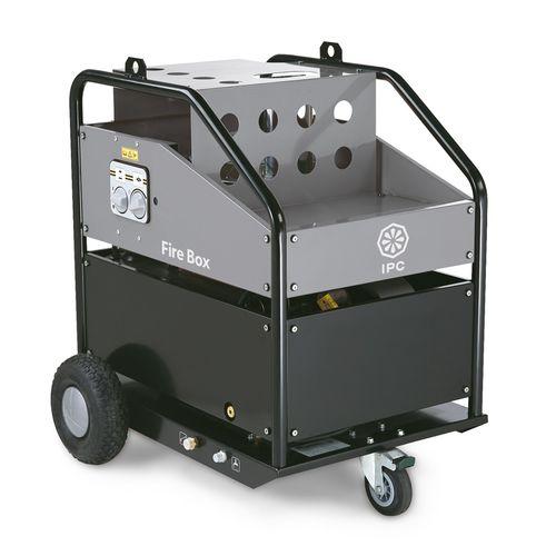 high-pressure washing machine / manual / stainless steel / spray