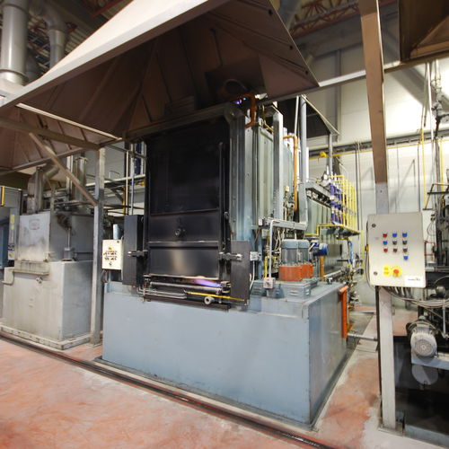 Annealing furnace / tempering / quenching / carburizing GKF series Sistem Teknik Industrial Furnaces