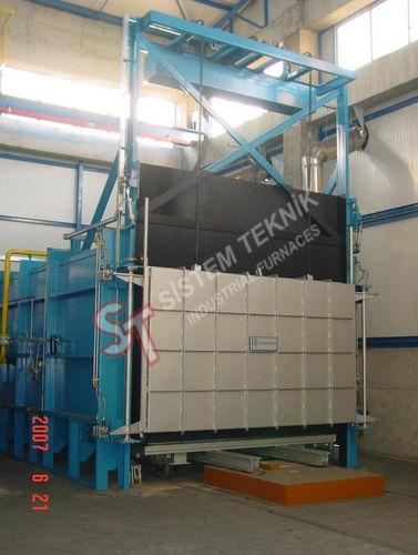 annealing furnace / car bottom / electric / gas