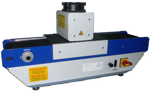 UV dryer / curing / with belt conveyor AKTIPRINT Mini/e Technigraf  GmbH