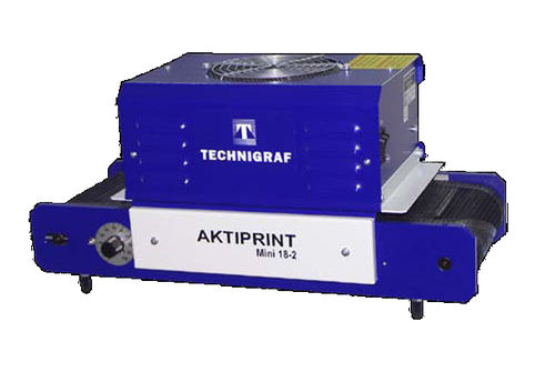 Belt dryer / UV AKTIPRINT Mini Technigraf  GmbH