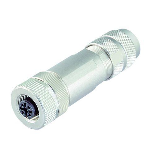 data connector / electrical power supply / circular / female
