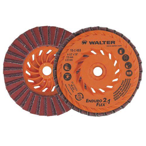 aluminum abrasive disc / for finishing / for deburring / for stainless steel alloys
