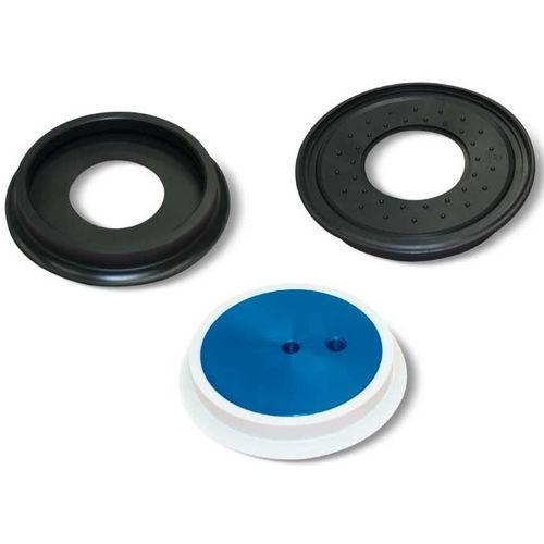 flat suction cup / circular / handling / for sheet metal