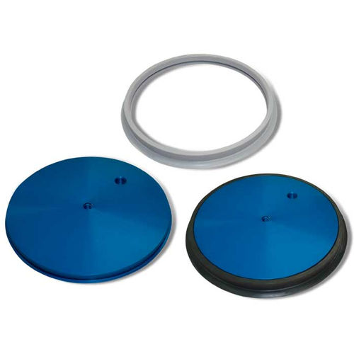 flat suction cup / circular / multi-function / for sheet metal