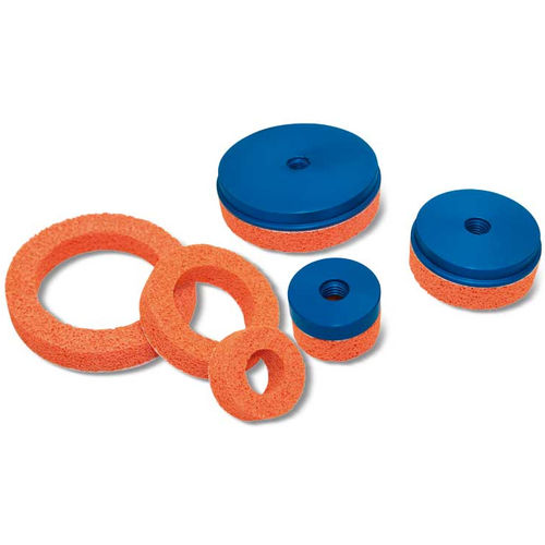 flat suction cup / circular / handling / for gripping