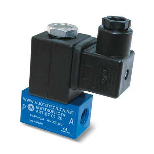 direct-operated solenoid valve / 2-way / normally closed / air