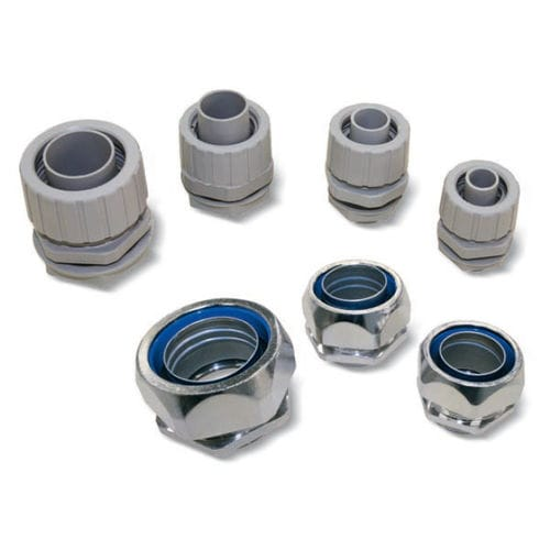 compression fitting / straight / pneumatic / polypropylene