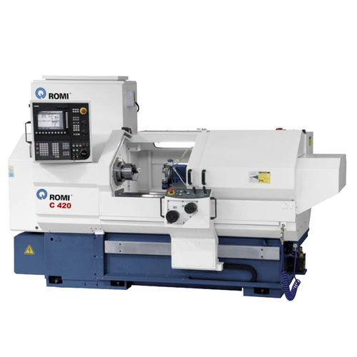 CNC lathe / horizontal / 2-axis / high-productivity ROMI C 420 Romi