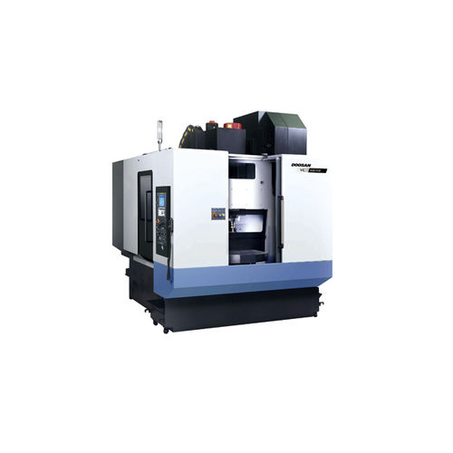 3-axis CNC machining center / vertical / traveling-column / high-speed VC 430 Doosan Machine Tools