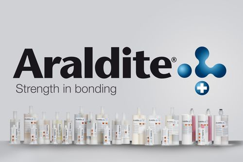 Epoxy adhesive / single-component / UV / for plastics Araldite® Huntsman Advanced Materials