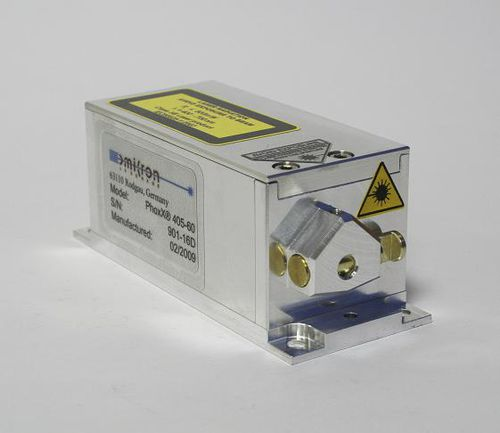 CW laser diode module / solid-state / adjustable wavelength / modulated