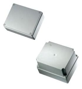 wall-mounted junction box / halogen-free / polycarbonate