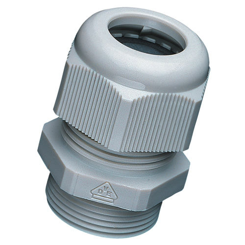 nylon cable gland / waterproof / threaded / strain relief