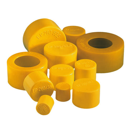 round cap / low-density polyethylene / protective / molded