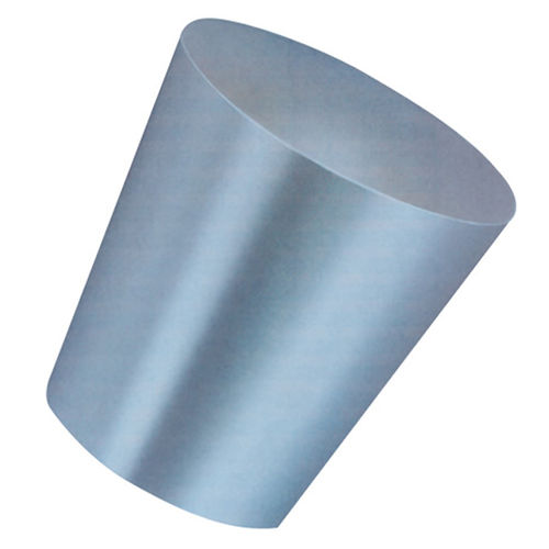 conical plug / non-threaded / silicone rubber / high-temperature