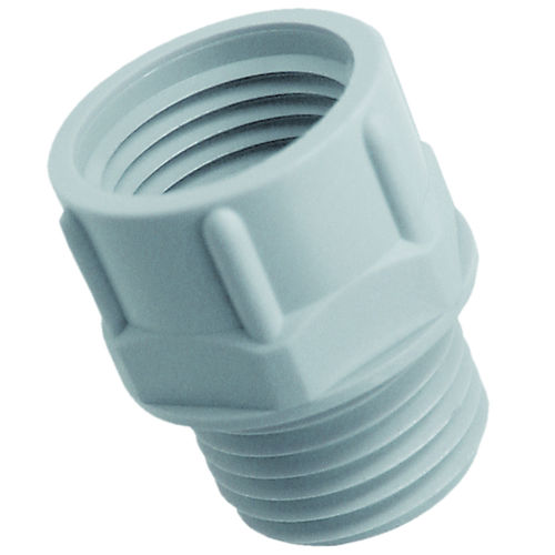 hydraulic adapter / for cables / thread / cylindrical