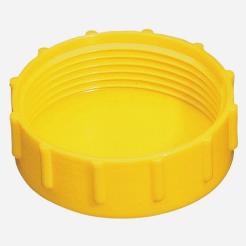 threaded cap / round / low-density polyethylene