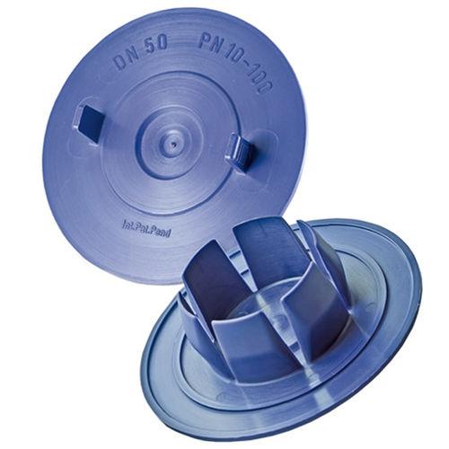 round plug / non-threaded / nylon / protection