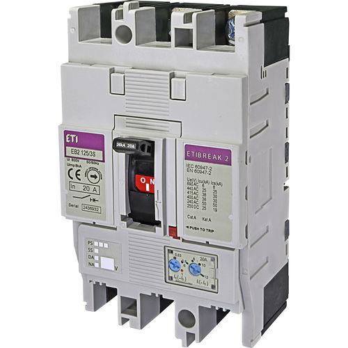 thermal circuit breaker / short-circuit / low-voltage / adjustable