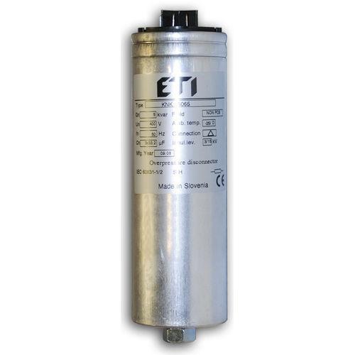 polypropylene film capacitor / cylindrical / power factor correction / three-phase