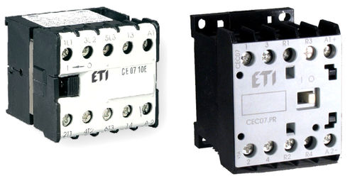 Motor contactor / electromagnetic / miniature max. 400 V, 7.5 kW | CE, CEC series ETI