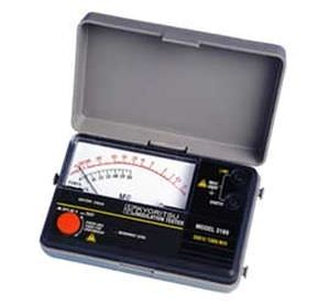 Insulation tester / analog 3165, 3166 Kyoritsu