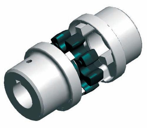 Flange coupling / motor / for pumps / metal OMT