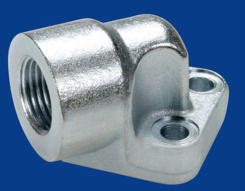 Weld fitting / threaded / elbow / galvanized steel OMT