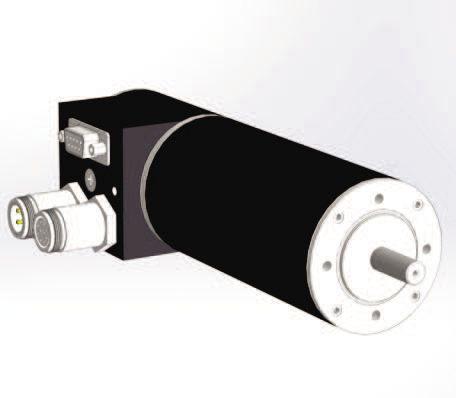 DC motor / brushless / 24V / 4-pole