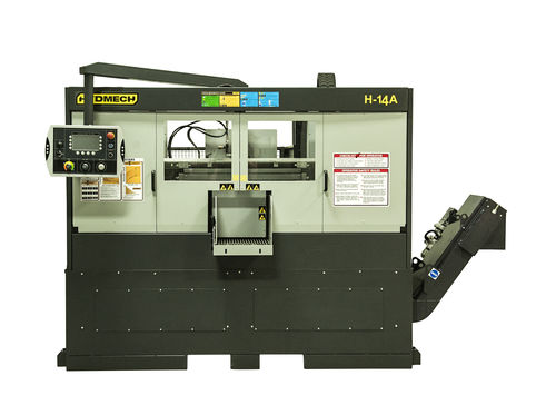 Band saw / automatic / electric / double-column 90° | H-14A HYD•MECH