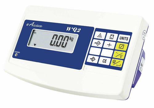 Digital weight indicator / dust-proof / built-in / for check-weigher 176 x 164 x 156 mm, RS232 | WQ2 Celmi