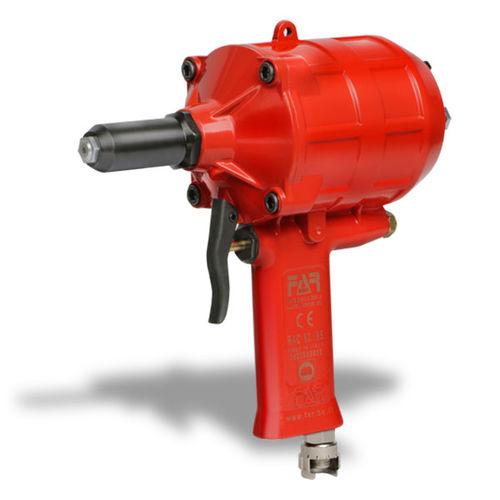 pneumatic riveter / for blind rivets / break-mandrel / compact