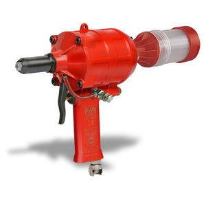 pneumatic riveter / for blind rivets / break-mandrel