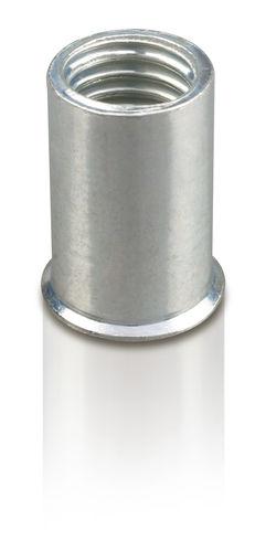 blind rivet nut / steel / threaded